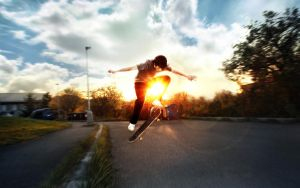 skateboarder by Tomasx4