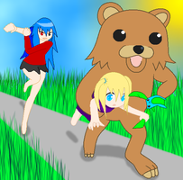 Pedobear STRIKES AGAIN by Tabii-Chan