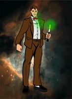 The 11th Doctor via HeroMachine by dhbraley