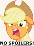 Applejack - NO Spoilers by TomFraggle