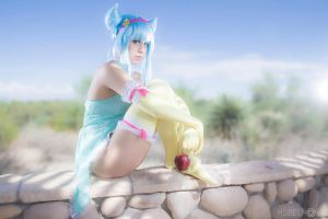 Daoko Girl Cosplay : A Lonely God by Khainsaw