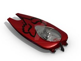 Fox Racing Toyota Powerboat by BiblicalShower