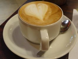 A cup of coffee by Almile