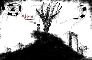 Alone by mar-ius