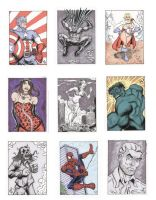 Sketch Cards by The-Standard