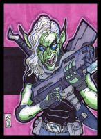 Sketch Card-A-Day 2013: 026 by lordmesa