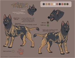 Trigger, New Fursona by Bonz847