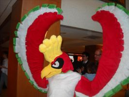 Ho-Oh by scheuenprinny