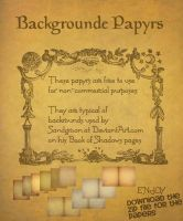 Book of Shadows Papers compendium by Sandgroan
