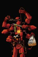 Deadpool Issue No. 53 by Devilpig