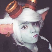 Tristana cosplay by KCaracol