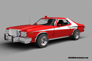 Ford Torino Render # 1 by joeliveros