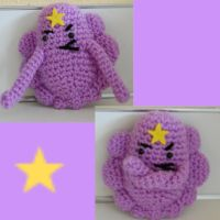 Lumpy Space Princess by DarkTeaCrochet