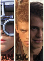 Anakin, three faces by Starwarsowa