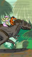 PONIES AND DINOSAURS 3 by chiimich