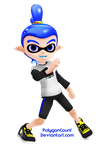 Inkling Boy Model by PolygonCount