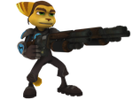 Ratchet and Clank: ACiT - Shotgunchuck Render by o0DemonBoy0o