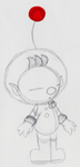 Olimar Sketch by PuccaFanGirl