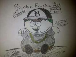 Eric Cartman As Rucka by Mikeoeagle