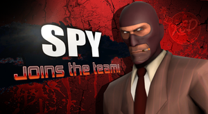 Spy From team fortress 2 is ready for battle! by Kyon000