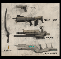 2120 Weapons by Zaeta-K