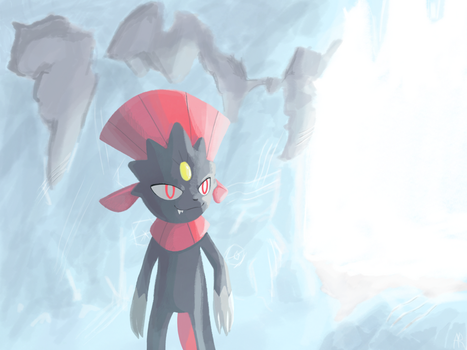 Weavile by UltimateUmbreon3
