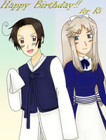 APH - Korea and Belarus by Xenya194
