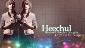 Heechul's Wallpaper by AreliCyrusBieber