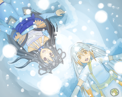 SC Calendar: New snow angels by miflore