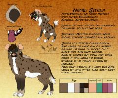Sitala Reference Sheet by NaokoHara