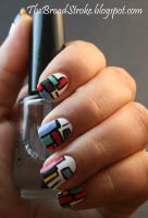 Nail Art: Colorful by ProlificMuse