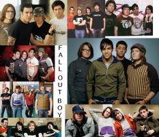 Fall Out Boy collage by MelyssaThePunkRocker