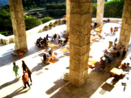 Getty Tilt Shift by wayworth