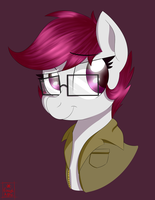 Rock Candy portrait [Commission] by NotEnoughApples