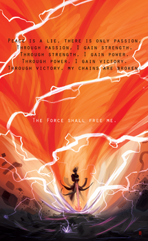 The Force Shall Free Me by Kimerex