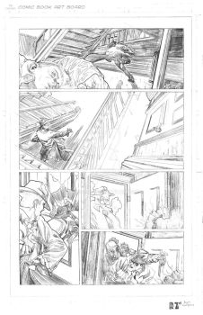 The Spirit- Page 4 PENCILS by ZUCCO-ART
