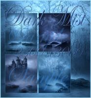 Dark Mist backgrounds by moonchild-ljilja