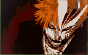 Bleach hollow Ichigo 8bit minecraft by 8bitXminecraft