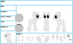 MLP Male Reference Sheet by oCrystal