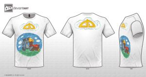 T-Shirt_Template_2011_white by rosenglas