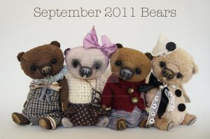 September 2011 Bears by Forest-Fellows