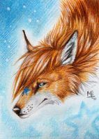 ACEO Poonie by wolf-minori