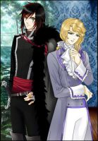 Yasei x Lestat (crossover) by Ralunix