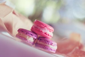 Macarons by Jessicahphotography