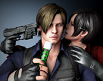 Sorry Leon...Hand it over by ceriselightning