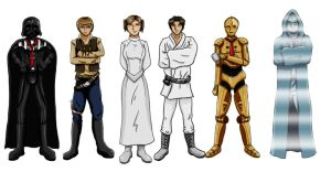 Starwars tgwtg by HappyTimidFox