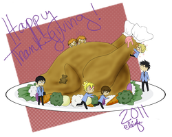 Happy Thanksgiving 2011 by X-Dovefire-X
