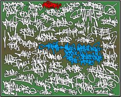 SHOUTS - Handstyle practice by rustymarc