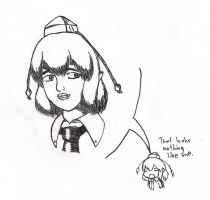 Aya Shameimaru doodle attempt #472 by GlassMan-RV