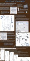 ..Lineart Tutorial.. by satsukii